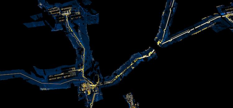 Corridor mapping alignment