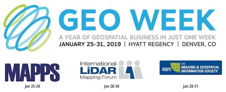 GeoWeek 2019 Denver